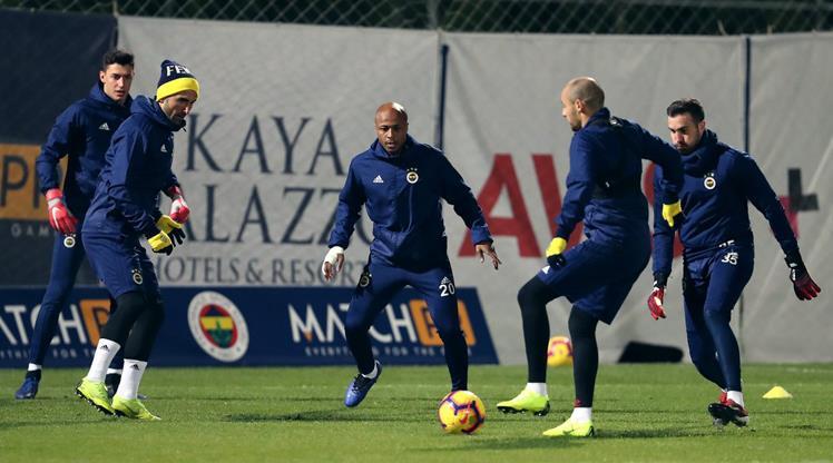 Fenerbahçe'den çift idman
