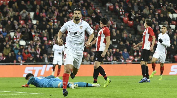 Nolito coştu, Sevilla tur kapısını araladı
