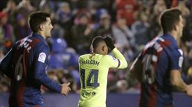 Barça kupada kayıp!