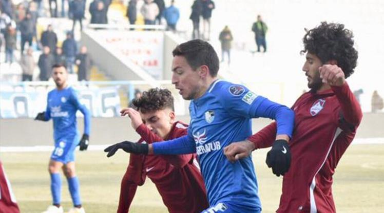 BŞB Erzurumspor'dan gollü prova