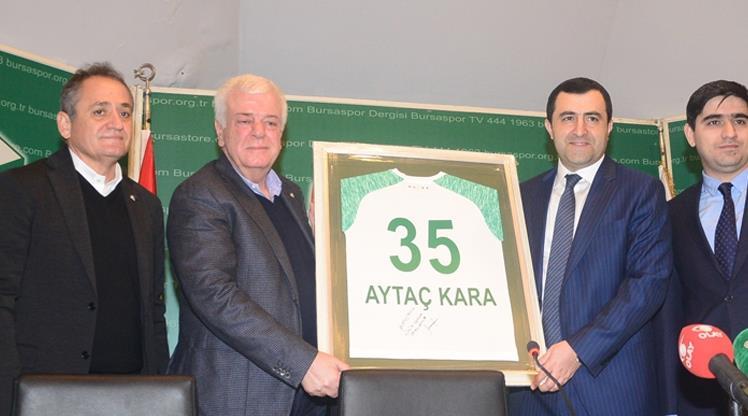 Bursaspor ile Neftçi Bakü iş birliği