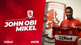 John Obi Mikel Middlesbrough'ta