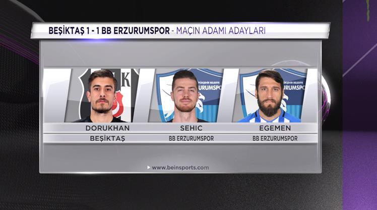 Sizce Beşiktaş - BB Erzurumspor maçının yıldızı kimdi?