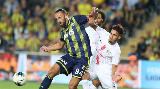 Fenerbahçe-Antalyaspor: 0-1 (ÖZET)