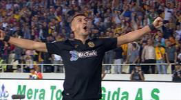Jahovic hat-trick'i bu golle tamamladı