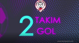 2 takım, 2 gol: Göztepe-İM Kayserispor