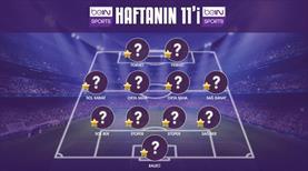 İşte Süper Lig'de 7. haftanın en iyi 11'i
