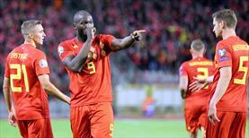 Belçika işi şova döktü: 9-0