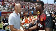 Zidane ve Pogba! Dev buluşma gerçekleşti