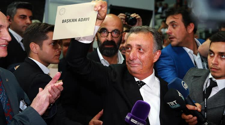 Beşiktaş'ın yeni başkanı Ahmet Nur Çebi
