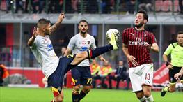 Milano'da müthiş gollerin gecesi: 2-2