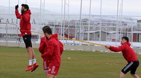 Sivas'ta Akhisarspor hazırlıkları