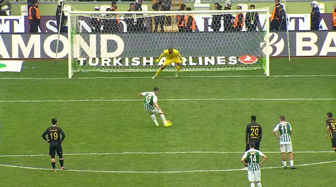 Jahovic penaltıyı kazandırdı, golünü attı