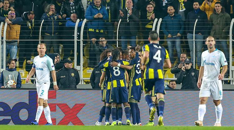 Fenerbahçe Zenit: Zenit Maçının özeti