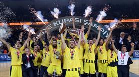 Kupada şampiyon Fenerbahçe Beko
