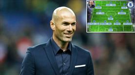 Transfere çılgın bütçe! İşte Zidane'nın Chelsea'si