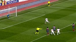 İşte penaltı anı ve gol