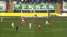 Bursaspor baskıyı yaptı golü buldu!