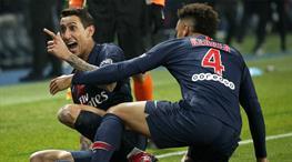 Di Maria coştu, dev maçı PSG kazandı (ÖZET)
