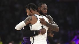 LeBron'un kara gecesi! Lakers play off dışı!