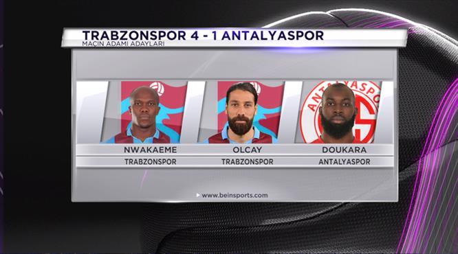 Sizce Trabzonspor - Antalyaspor maçının yıldızı kimdi?