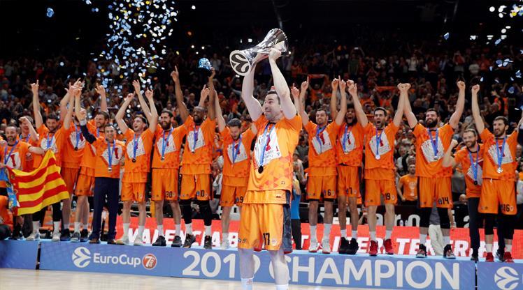 EuroCup'ta şampiyon Valencia