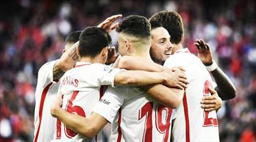 Sevilla ikinci yarı farka koştu (ÖZET)