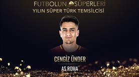 Yılın Süper Türk Temsilcisi Cengiz Ünder