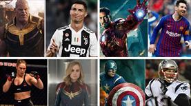 Spor dünyasının süper kahramanları!