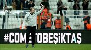 Beşiktaş tribünlerinden Sergen Yalçın'a sevgi seli