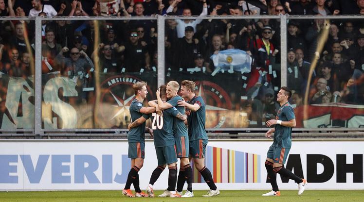 Hollanda'da şampiyon Ajax