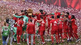 Bayern Münih şampiyonluğu böyle kutladı