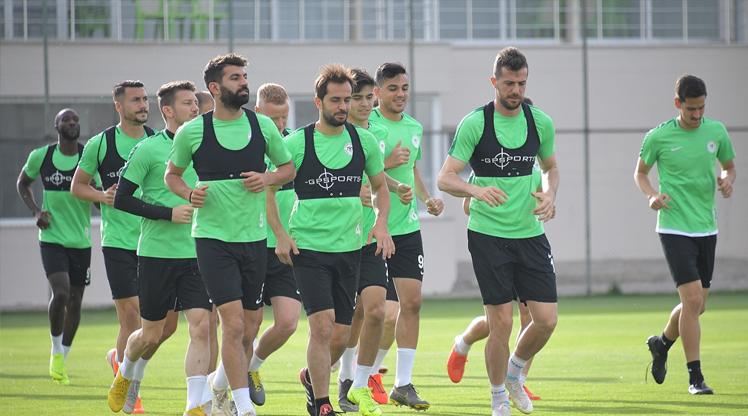 Konya'da Akhisarspor hazırlıkları