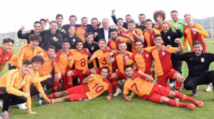 U21'de de şampiyon Galatasaray