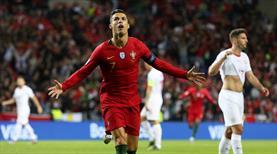 Ronaldo böyle istedi! İlk finalist Portekiz