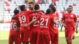 Antalyaspor'un attığı 39 gol burada