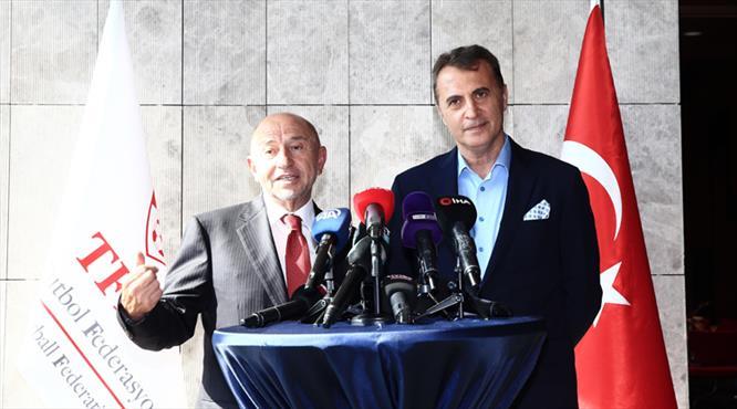 Nihat Özdemir ve Fikret Orman'dan ortak açıklama