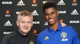 Rashford United'da kaldı