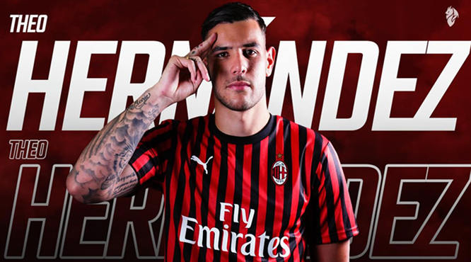 Theo Hernandez Milan'da