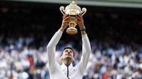 5 saatlik finalde Djokovic'ten tarihi zafer