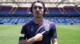Trabzonspor'dan duygusal forma tanıtımı