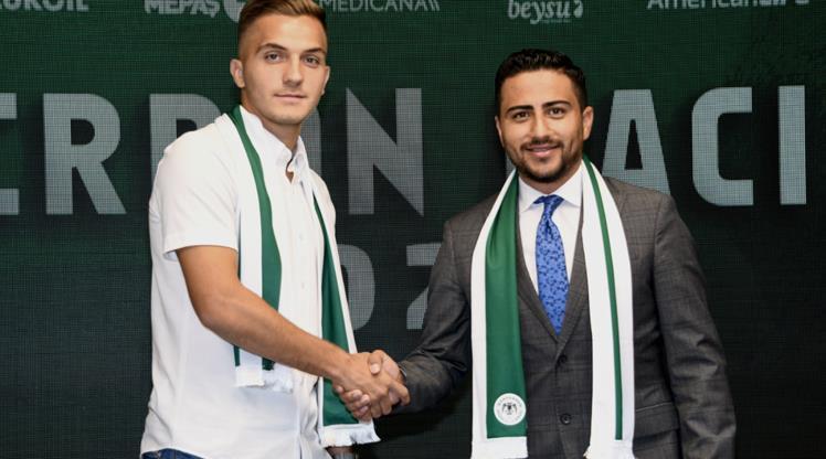 Konyaspor'da iç transfer