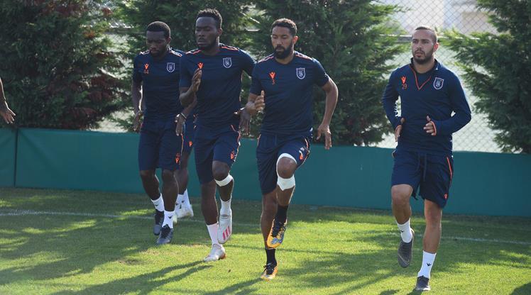 Başakşehir'de Olympiakos hazırlıkları