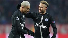Mbappe'den Neymar'a: