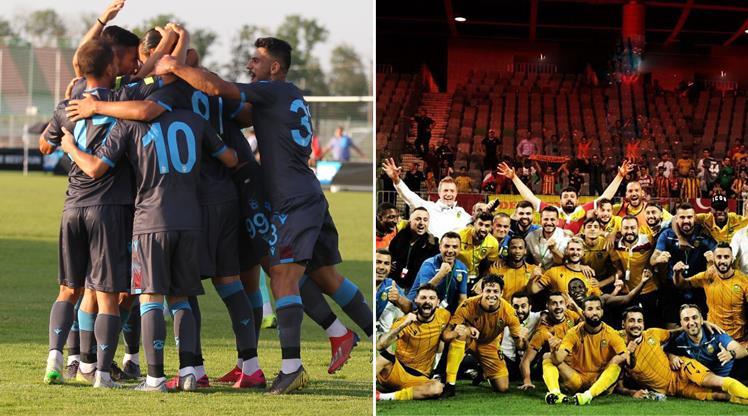 Trabzonspor ve Malatyaspor tura çıkıyor