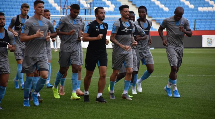 Trabzonspor tura hazırlanıyor