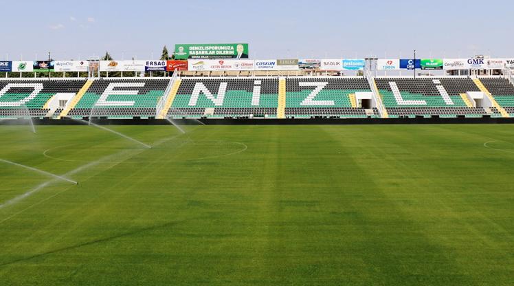 Denizli Atatürk Stadı Süper Lig'e hazır