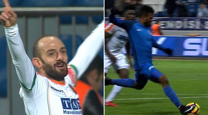 2 takım, 2 gol: Alanyaspor - Kasımpaşa