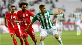 Konyaspor - Antalyaspor: 2-2 (ÖZET)