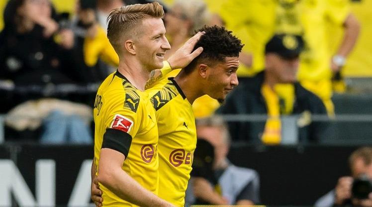 Borussia Dortmund gol oldu yağdı